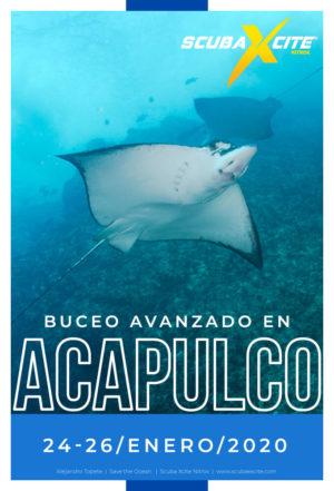 buceo avanzado en acapulco 2020
